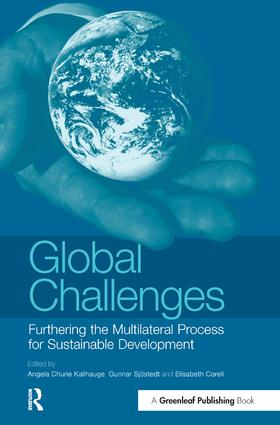 Global Challenges: Furthering the Multilateral Process for Sustainable Development book cover