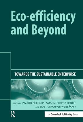 Eco-efficiency and Beyond: Towards the Sustainable Enterprise book cover