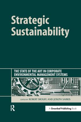 Strategic Sustainability: The State of the Art in Corporate Environmental Management Systems, 1st Edition (Hardback) book cover