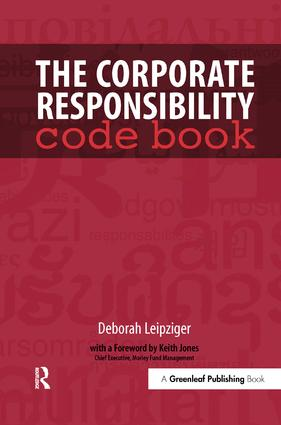 The Corporate Responsibility Code Book book cover