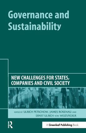 Globalisation means new challenges for sustainability