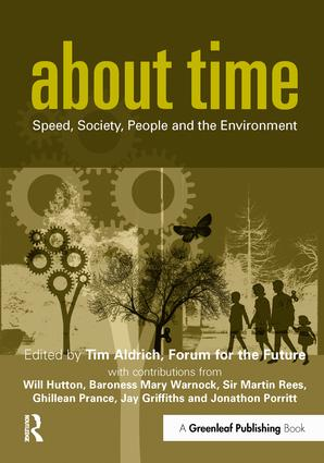 About Time: Speed, Society, People and the Environment, 1st Edition (Paperback) book cover