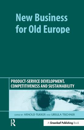 New Business for Old Europe: Product-Service Development, Competitiveness and Sustainability book cover