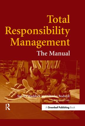 Total Responsibility Management: The Manual, 1st Edition (Hardback) book cover
