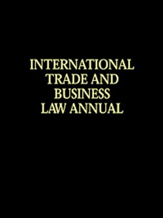 International Trade & Business Law Annual Vol V