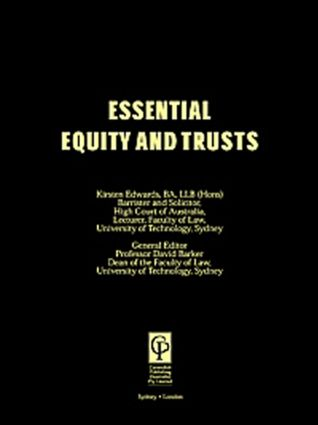 Essential Equity & Trusts book cover