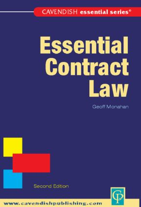Essential Contract Law book cover