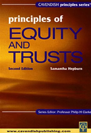 Principles of Equity & Trusts (Aus) 2/e