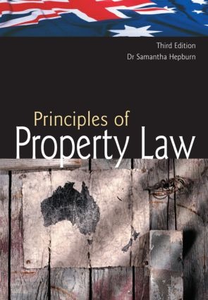 Australian Principles of Property Law book cover