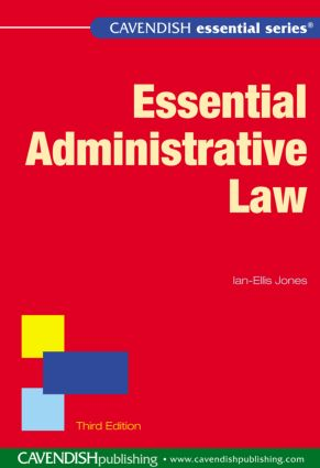 Essential Administrative Law book cover