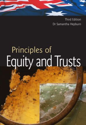 Australian Principles of Equity & Trusts: Third Edition book cover
