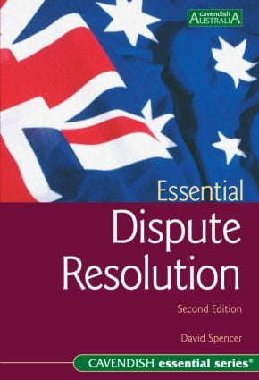 Essential Dispute Resolution 2/e book cover