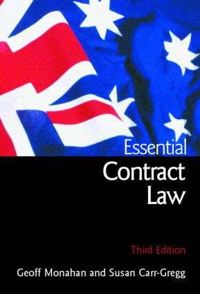 Essential Contract Law: third edition book cover