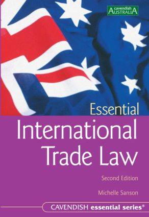 Essential International Trade Law 2/e book cover