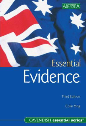 Essential Evidence book cover