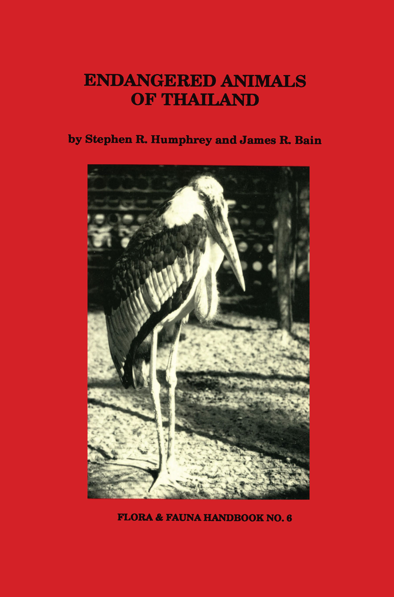 Endangered Animals of Thailand: 1st Edition (Paperback) book cover
