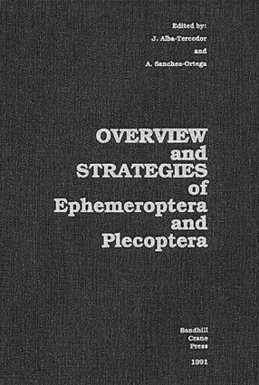 Overview and Strategies of Ephemeroptera and Plecoptera: 1st Edition (Hardback) book cover