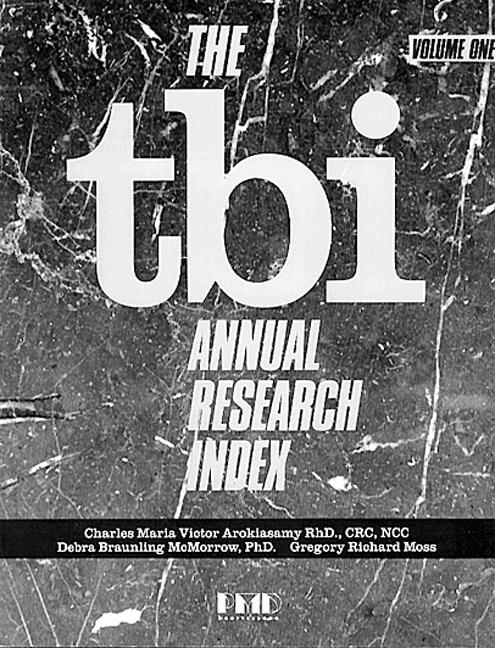 The TBI Annual Research Index (Paperback) book cover
