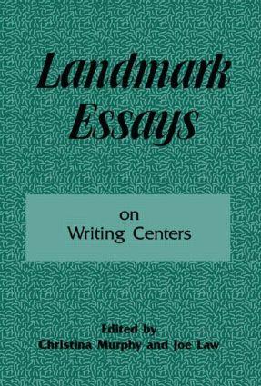 Landmark Essays on Writing Centers: Volume 9 book cover