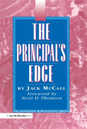 Principal's Edge, The: 1st Edition (Hardback) book cover