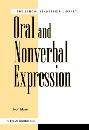 Oral and Nonverbal Expression: 1st Edition (Paperback) book cover