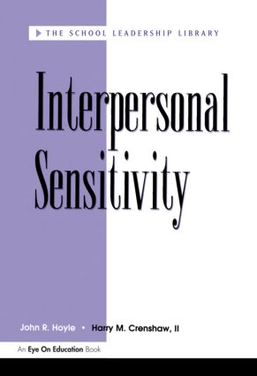 Interpersonal Sensitivity: 1st Edition (Paperback) book cover