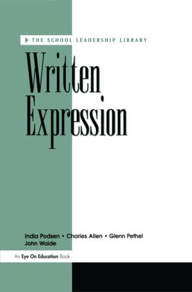 Written Expression: 1st Edition (Paperback) book cover