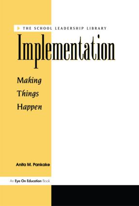 Implementation: 1st Edition (Paperback) book cover