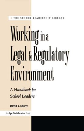 Working in a Legal & Regulatory Environment: 1st Edition (Paperback) book cover