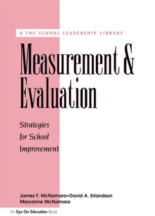 Measurement and Evaluation: 1st Edition (Paperback) book cover