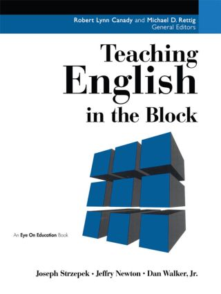 Teaching English in the Block: 1st Edition (Paperback) book cover