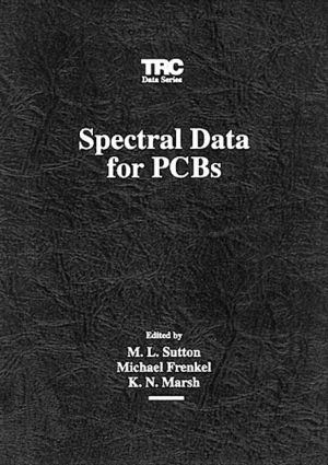 Spectral Data for PCBs: 1st Edition (CD-ROM) book cover