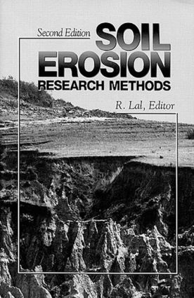 Soil Erosion Research Methods: 2nd Edition (Paperback) book cover
