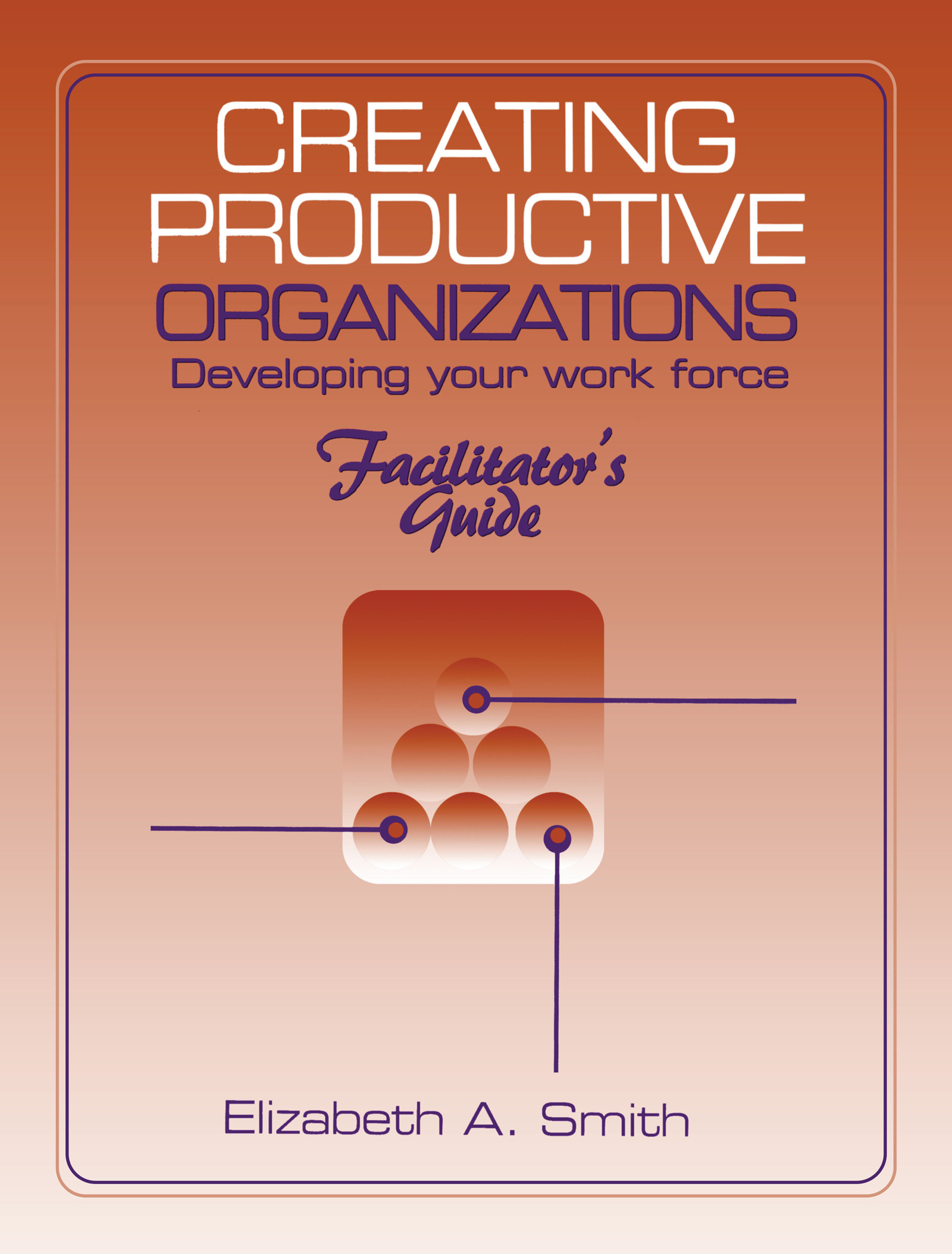 Creating Productive Organizations: Manual and Facilitator's Guide, 1st Edition (Paperback) book cover
