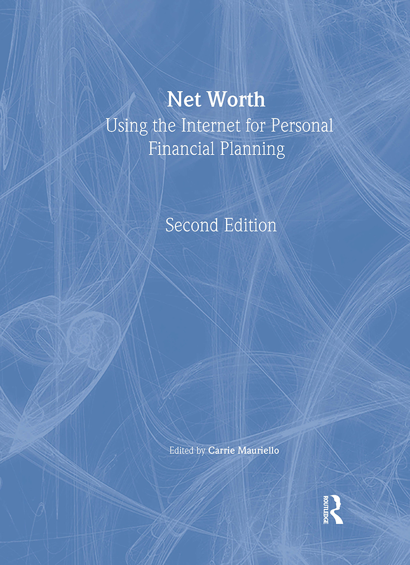 Net Worth: 1st Edition (Paperback) book cover