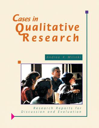 Cases in Qualitative Research: Research Reports for Discussion and Evaluation (Paperback) book cover