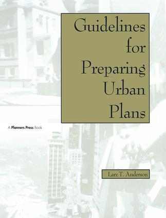 Guidelines for Preparing Urban Plans: 1st Edition (Paperback) book cover