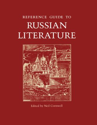 Reference Guide to Russian Literature (Hardback) book cover