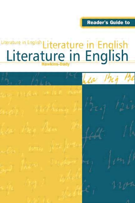Reader's Guide to Literature in English: 1st Edition (Hardback) book cover