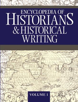 Encyclopedia of Historians and Historical Writers book cover