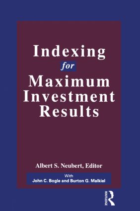 Indexing for Maximum Investment Results: 1st Edition (Hardback) book cover