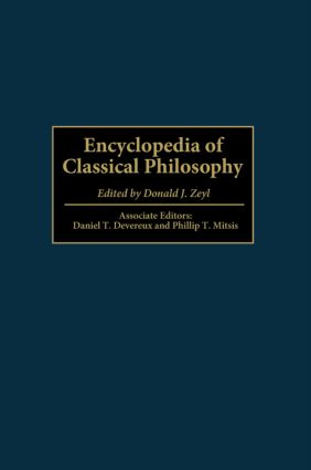 Encyclopedia of Classical Philosophy (Hardback) book cover