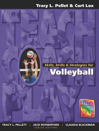 Skills, Drills & Strategies for Volleyball book cover