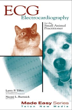 ECG for the Small Animal Practitioner: 1st Edition (Paperback) book cover