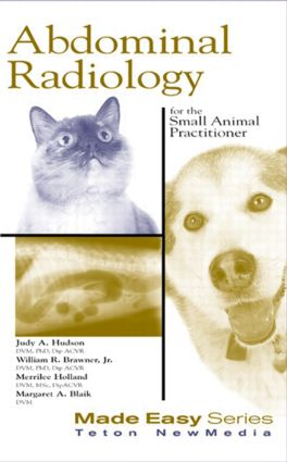 Abdominal Radiology for the Small Animal Practitioner (Book+CD)