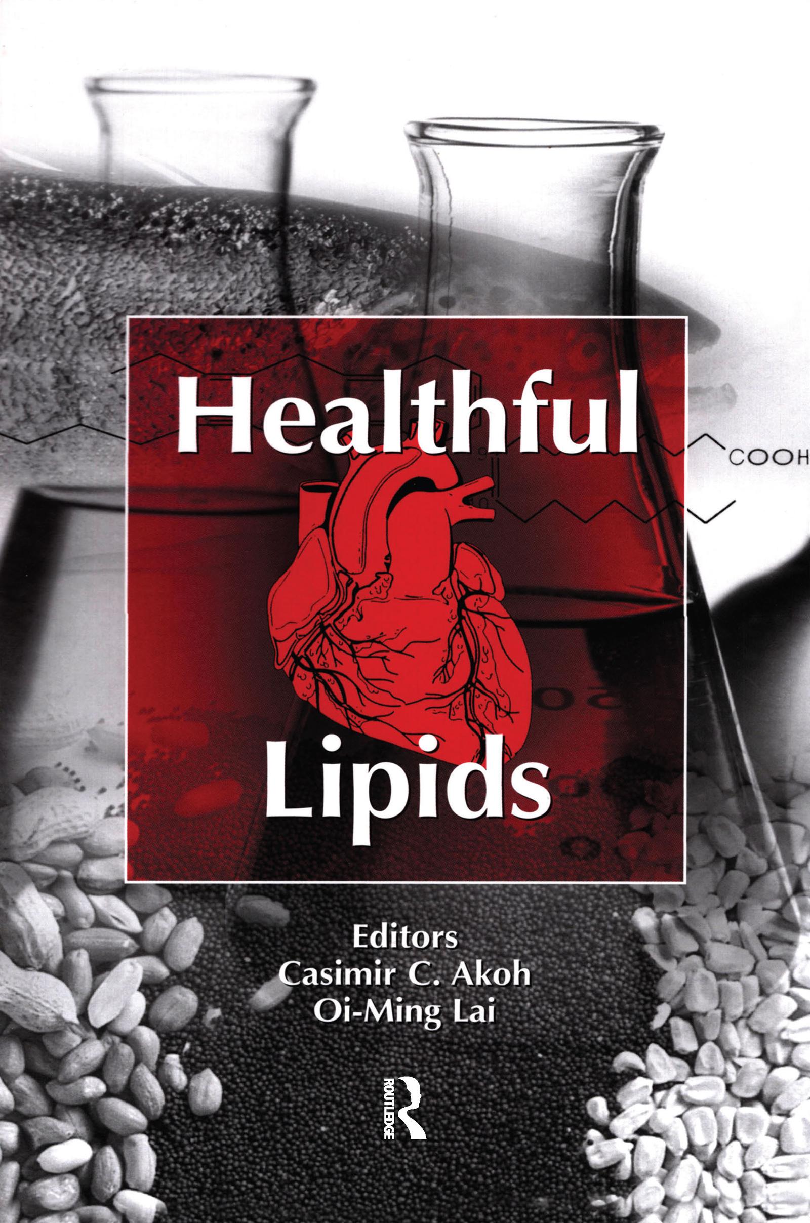 Healthful Lipids: 1st Edition (Hardback) book cover