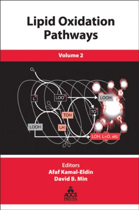 Lipid Oxidation Pathways, Volume Two: 1st Edition (Hardback) book cover