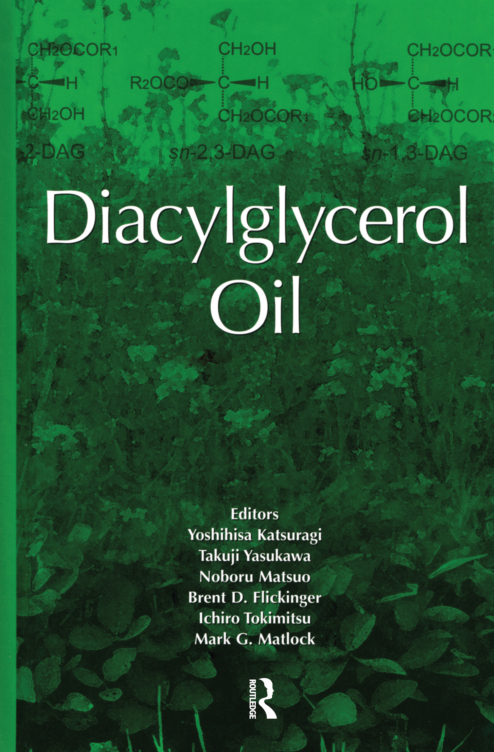 Diacylglycerol Oil: 1st Edition (Hardback) book cover