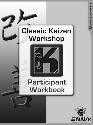 Classic Kaizen Participant Workbook: 1st Edition (Paperback) book cover