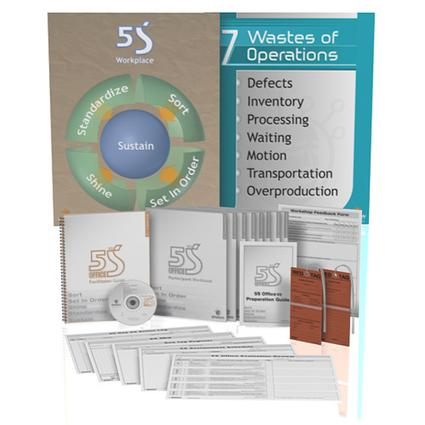 5S Office: Version 2 Facilitator Guide: 1st Edition (Paperback) book cover